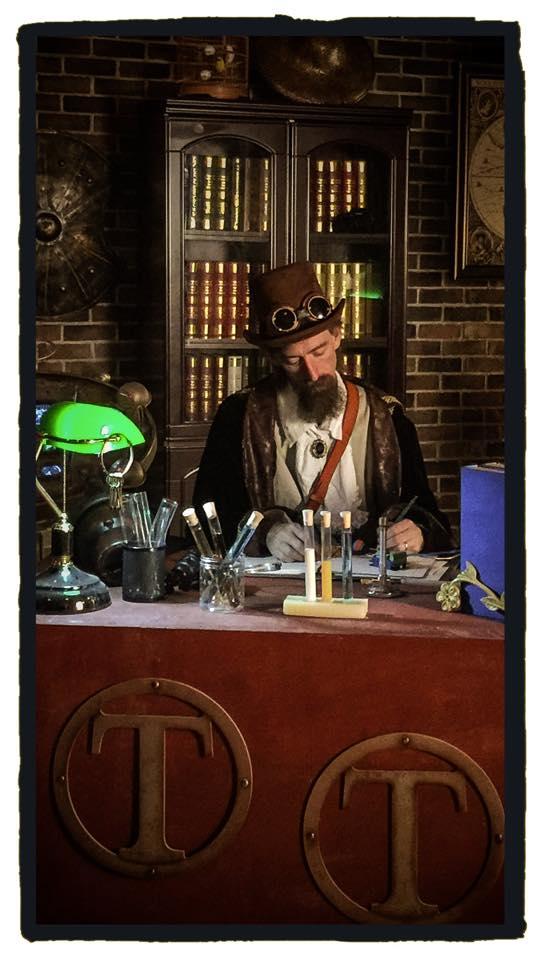 tim at desk